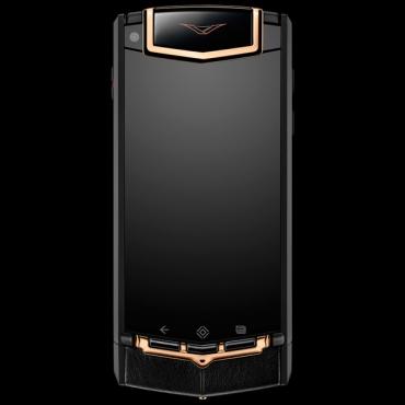 Vertu Ti Titanium Black PVD Red Gold Mixed Metals